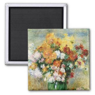 Aimant Pierre un bouquet de Renoir   des chrysanthèmes