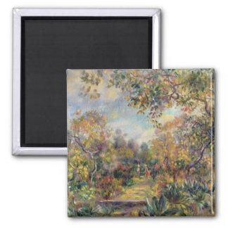 Aimant Pierre un paysage de Renoir   à Beaulieu