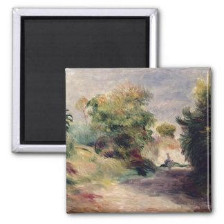 Aimant Pierre un paysage de Renoir   près de Cagnes
