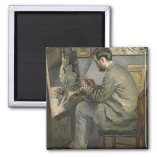 Aimant Pierre un Renoir   Frederic Bazille à son chevalet