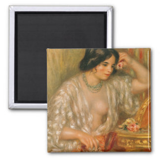 Aimant Pierre un Renoir   Gabrielle avec des bijoux