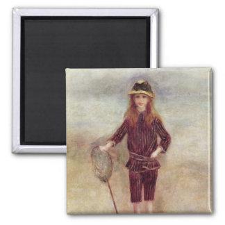 Aimant Pierre un Renoir   le petit Fisherwoman