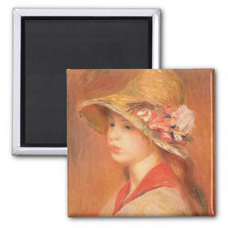 Aimant Pierre une jeune femme de Renoir   dans un