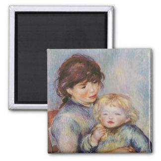Aimant Pierre une maternité de Renoir  , enfant avec un