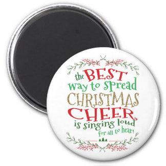 Aimant Pin d'acclamation de Noël