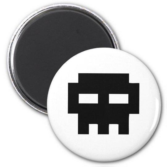 Aimant Pirate 8 Bits Skull
