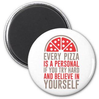 Aimant Pizza personnelle