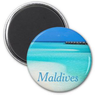 Aimant Plage tropicale chez les Maldives