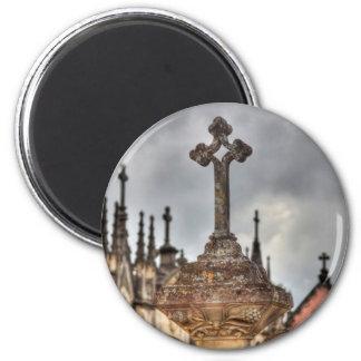 Aimant Plan rapproché croisé de cimetière, Portugal