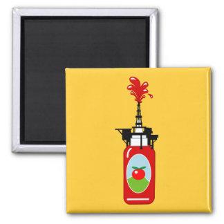 Aimant Plate-forme pétrolière de ketchup