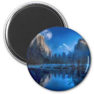 Aimant Pleine lune dans Yosemite