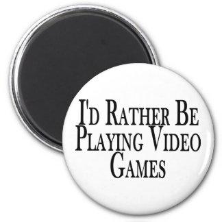 Aimant Plutôt jeux vidéo de jeu