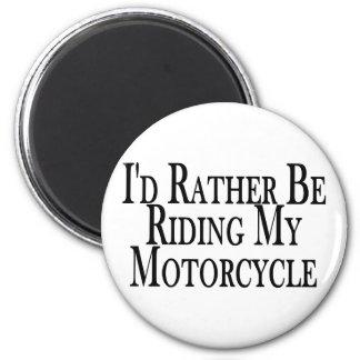 Aimant Plutôt monte ma moto