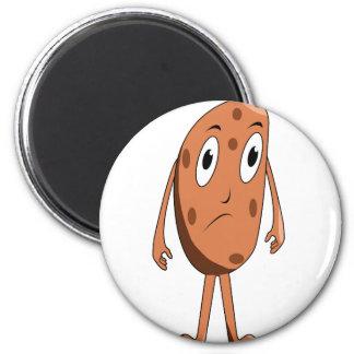 Aimant Pomme de terre triste