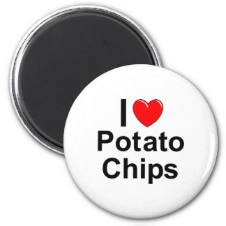 Aimant Pommes chips