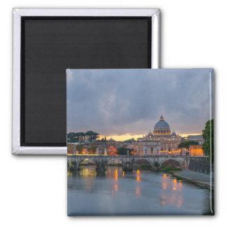 Aimant Pont de St Angelo, la basilique de St Peter, Rome