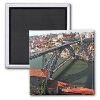 Aimant Pont en fer de ville de Porto, Portugal