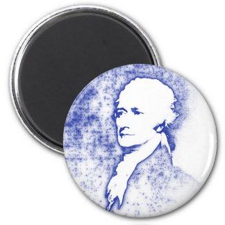 Aimant Portrait Alexander Hamilton d'art de bruit dans le