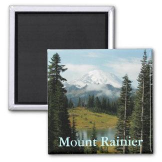 Aimant Portrait de montagne du mont Rainier
