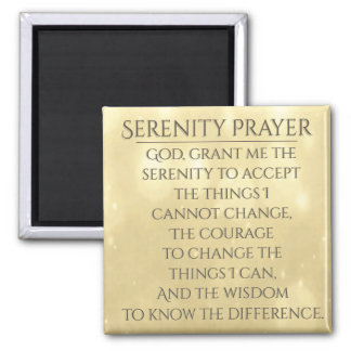 Aimant Prière de sérénité