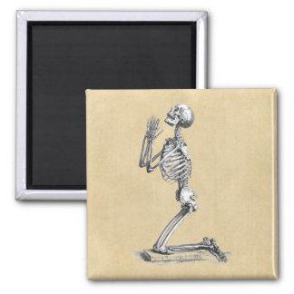 Aimant Prière squelettique