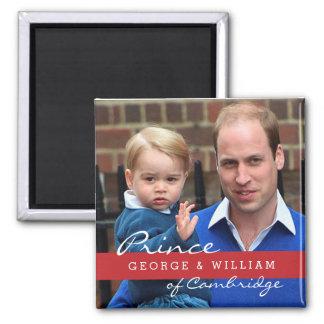 Aimant Prince George et prince William