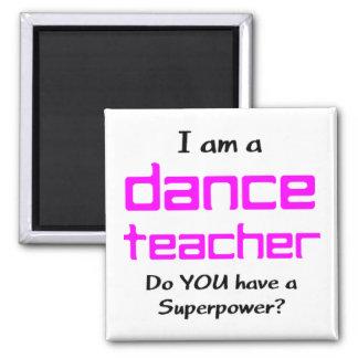 Aimant professeur de danse