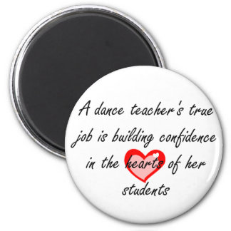 Aimant Professeur de danse - confiance de bâtiment