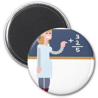 Aimant Professeur de maths