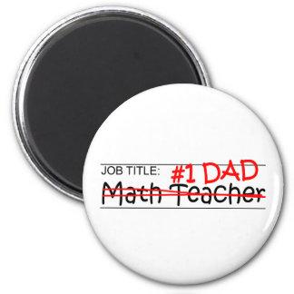 Aimant Professeur de maths de papa du travail