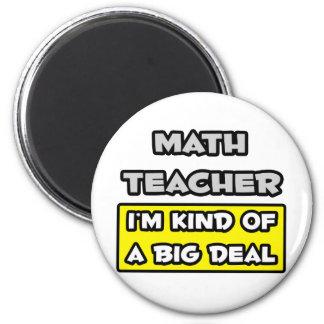 Aimant Professeur de maths. Je suis un peu une affaire