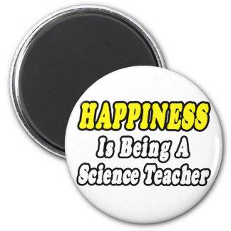 Aimant Professeur de Sciences de bonheur…