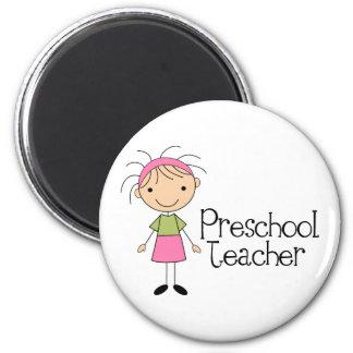 Aimant Professeur préscolaire