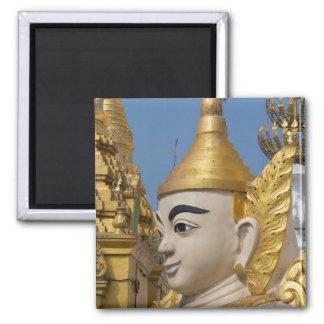 Aimant Profil de statue de Bouddha