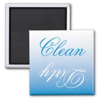 Aimant propre/sale de lave-vaisselle d'Ombre de