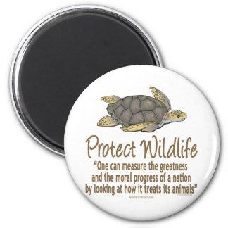 Aimant Protégez les tortues de mer