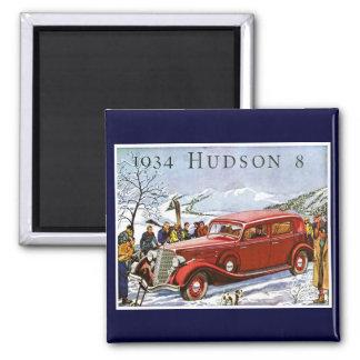 Aimant Publicité 1934 de cru du Hudson 8