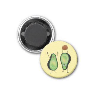Aimant Puits vert encourageant drôle d'appui renversé