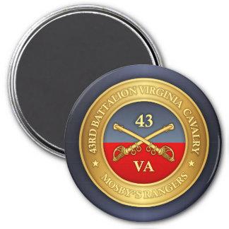 Aimant quarante-troisième Bataillon, cavalerie de la