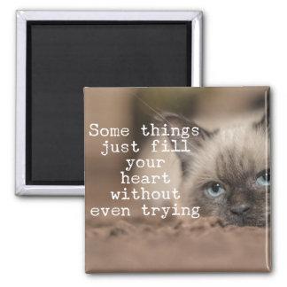 Aimant Quelques choses remplissent juste votre coeur