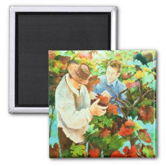 Aimant Récolteuses 1996 de raisin