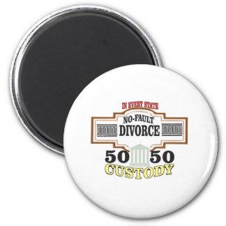 Aimant réduisez la garde 50 50 automatique de divorces