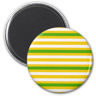 Aimant Regard vert et jaune