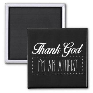 Aimant Remerciez Dieu que je suis un athée