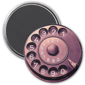 Aimant Rétro cadran de téléphone