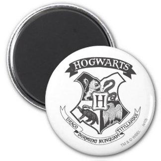 Aimant Rétro Hogwarts crête de Harry Potter |