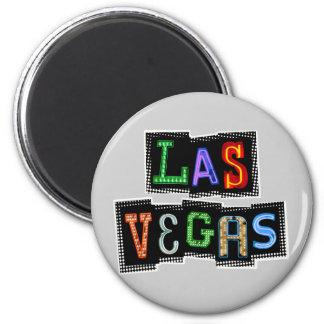 Aimant Rétro néon de Las Vegas