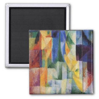 Aimant Robert Delaunay - Windows simultané sur la ville