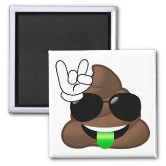 Aimant Roche sur la dunette d'Emoji