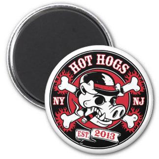 Aimant rond chaud de Hogs™